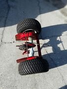 Snapper Rear Engine Riding Lawn Mower Transaxle,wheels, And Tires.
