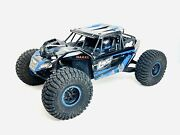 Losi Rock Rey Blue And Blk Chassis Roller No Electronics Discontinued