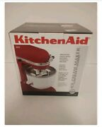 Kitchenaid Ice Cream Sorbet Maker Stand Mixer Open Box Missing Drive Assembly