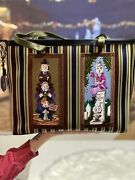 In Hand Harveys Haunted Mansion Stretching Portrait Vertical Tote Nwt