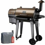 2020 Upgrade Wood Pellet Grill And Smoker 6 In 1 Bbq Grill Auto Zpg-450a