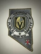 Nevada Nv Highway Patrol Las Vegas Knights New Patch Police Sheriff State Shaped