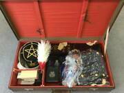 Former Japanese Army Military Uniform Army Hat Army Trunk Set Rare