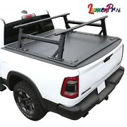 2019-2021 Ram 1500 Bed Rack With Tonneau Cover 5.7ft Hard Retractable Waterproof