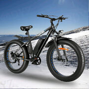 1000w-26and039and039-48vtire Electric Bike Mountain Bicycle Snow Beach City Ebike/super A