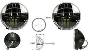 Land Rover Lhd Defender / Series / Rr Classic Models 7 Led Upgrade Headlights