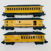 American Flyer 20,30, 40 Fyandprr Overland Express Frontiersman Baggage Cars