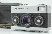"""【""""rare First Model S/n 302xxxx Near Mint】 Rollei 35 Germany Silver From Japan"""