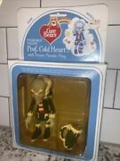 Vintage 1984 Kenner Care Bears Prof Cold Heart Poseable Frozen Meanie Mug