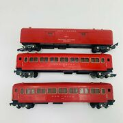 American Flyer New Haven Passenger, Baggage Cars 650, 650, 651 Train Cars Lot 3