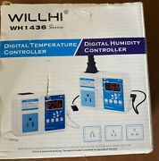 Willhi Wh1436a Digital Temperature Controller 110v Digital Thermostat Switch