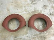 1936 Cadillac Spare Tire Side Mount Covers