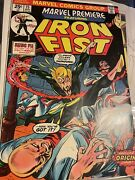 Iron Fist - 1st Appearance In Marvel Premiere 15 And 16 2nd App Nice Copies