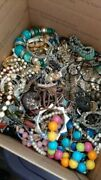 20lbs Vintage To Now Junk Drawer Estate Find Jewelry Lot Unsearched