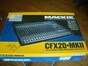 Mackie Cfx20-mkii Mixer Mint Condition Original Box Local Pick Up Only