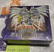 Yu-gi-oh Duel Monsters Elemental Energy Booster Box Japan Rare New