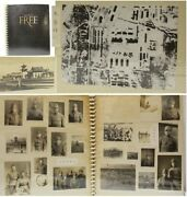 Rare 234 Units Japanese Army Photo Album Helicopter Shot Military Antique Japan