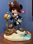 Disney Limited Edition 20' Mickey Mouse Pirate 13 Of 200
