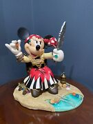"""Disney Pirate Minnie Mouse 20"""" Limited Edition 180 Of 300"""