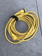 Used Marinco 50and039 30amp 125v Shore Power Cord Good Working Condition Clean G