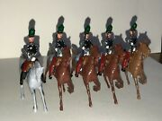 Britains Lead Toy Soldier Set 139 French Chasseurs A Cheval Rare W Officer