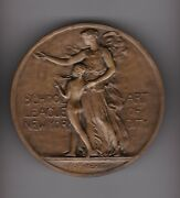 School Art League Nyc Award Medal Andndash Fine Classic Work By Cecere