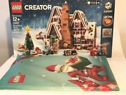 Lego Creator Gingerbread House 10267 And Vip Gift Wrap Set New Christmas Holiday