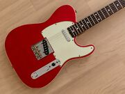 1986 Fender Telecaster Custom And03962 Vintage Reissue Tl62b Candy Apple Red Japan