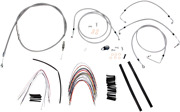 Burly Brand B30-1094 Braided Stainless Steel Cable/brake Line Kit