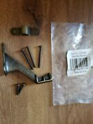 9 Handrail Bracket Antique Brass Finish Unbranded. Possibly National Or Stanley