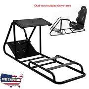 Gamers Seat Cockpit Universal Steel Frame Racing Simulator Xbox Ps4 Stand Mount