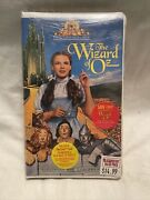 The Wizard Of Oz Vhs 1996factory Sealed Ultra Rare W/ Audio Cassette