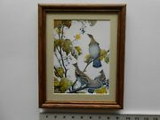 Aiden Lassell Ripley Grouse And Grapevine 8x10 Framed 2.5 253