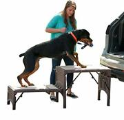 Pet Gear Free Standing Ramp For Cats And Dogs. Great For Suv's Or Use Next To Yo