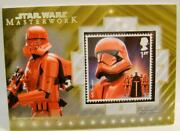 Sith Jet Trooper 1/1 Gold Stamp Relic Card Topps Star Wars Masterwork 2020 Rare