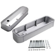 Aluminum Engine Valve Rocker Covers Stain Finish For Ford Bbf 429 460 Big Block