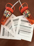 4 Six Flags Over Georgia Tickets W/ 2 Free Souvenir Bottles Unlimited Refills