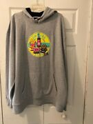 The Smokers Club Munchy Sessions Gray Hoodie Size 3xl
