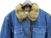 Monroe And Main Womenand039s Size 1x Cotton Denim Fur Lined Blue Jean Jacket