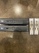 Directv D12-100 Receiver Box Direct Tv W/remote And Power Cord - Bundle Of 2.