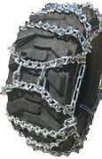 Tirechain.com 13.6-24, 13.6 24 V Bar Duo Ladder Tractor Tire Chains Set Of 2