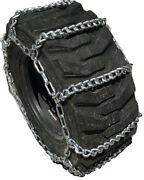 Snow Chains Compatible With Kubota L6060 Front 9.5-16 Boron Alloy Tire Chains
