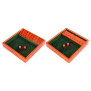 Wooden Shut The Box Dice Pub Board Game 2-players Gaming Toys For Adults