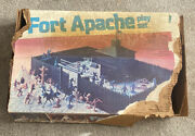 Fort Apache Playset 1977 Marx Toys With O