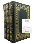 Stephen E. Ambrose Lewis And Clark Journals, Undaunted Courage 3 Volumes Easton
