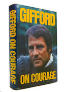 Frank Gifford And Charles Mangel Gifford On Courage 1st Edition 1st Printing