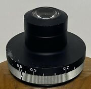 Zeiss 1087-444 0.8 Strain Free Pol/dic Condenser For Axio Microscope