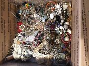 Huge Vintage Junk Drawer Estate Find Jewelry Lot Unsearched 20lbs+ Lot Bb