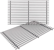 2pack 17.5'' Heavy Duty Grill Cooking Grates For Weber Spirit 200 Series E210