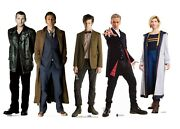 Doctor Who Lifesize Cardboard Cutouts Bumper Collection Of 5 Standups